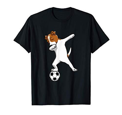 Dabbing Hund Dab Dog Hundebesitzer Fussball Kinder Männer T-Shirt