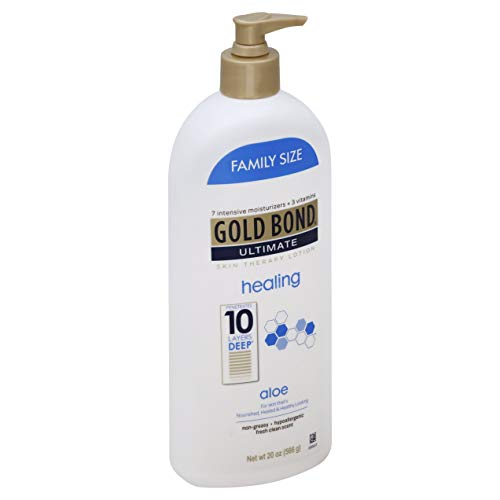 Gold Bond Ultimate Healing Skin Therapy Lotion with Aloe, Family Size, 20 Ounces