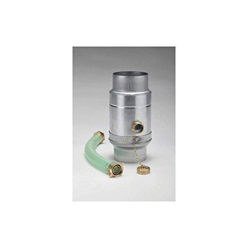 Zink Wassersammler mit Schlauchanschluss 1