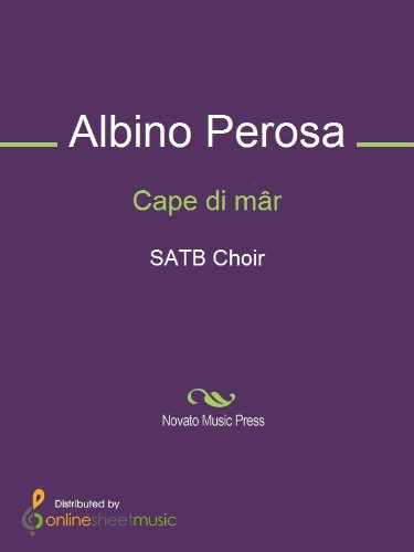Cape di mâr - Score (English Edition)