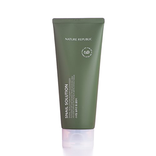 Nature Republic Snail Solution Foam Cleanser, 150 Gram