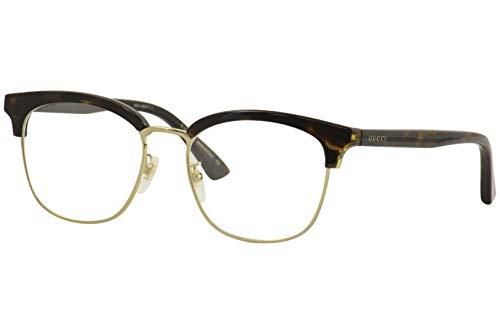 Gucci Occhiale da Vista GG0409OK 002 havana montatura plastica taglia 53 mm occhiale unisex