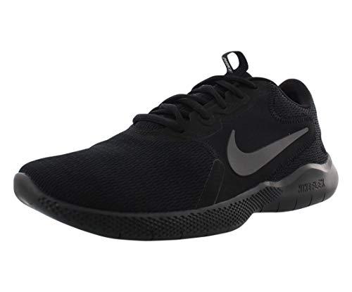 Nike Men's Flex Experience Run 9 Shoe, Black/Dark Smoke Grey, 8.5 4E US