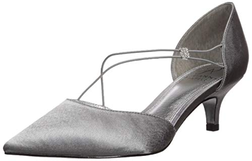 Adrianna Papell Women's LACY Pump, Pewter, 7.5 M US