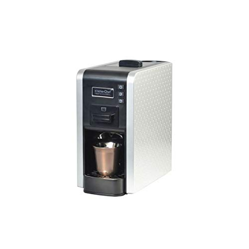 Kitchen chef - multigusto pro - Cafetière expresso multi-capsules 19bars silver