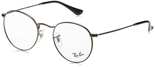 Ray-Ban Round Metal Monturas de gafas para Hombre