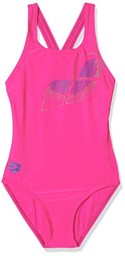 arena Maillot de Bain de Sport pour Fille L Freak Rose-Royal