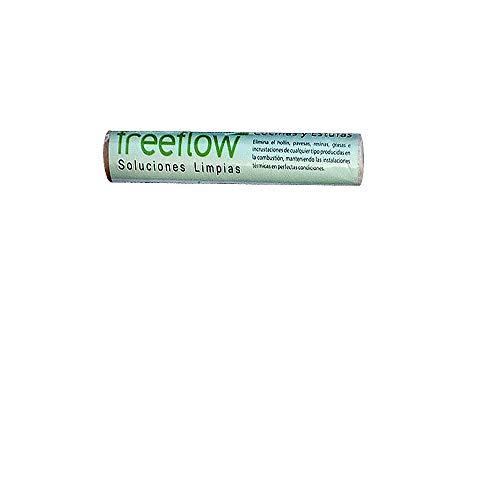 PYRO FEU 862304 Cartucho deshollinador para chimeneas pellets, biomasa, cocinas y estufas, Blanco, blanco