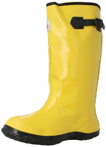 Mutual Industries '14500 Extra Wide Over-The-Shoe Work Slush Boot, 17'' Height, Size 14, Yellow' (14500-14-17)