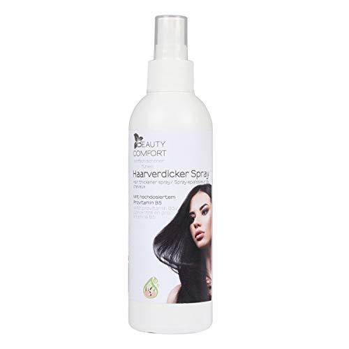 Beauty Comfort Haarverdicker-Spray, Haarverdichtung Haarvolumen Volumen-Power, Haarpflege, Spray mit B5, Volumenspray