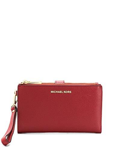 Luxury Fashion | Michael Kors Dames 34F9GAFW4L683 Rood Leer Portemonnees | Lente-zomer 20