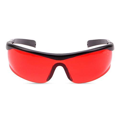 WRHNE Anti-Laser-Brille, Anti-Infrarot-Schutzbrille Rote Brille