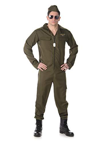 Générique Déguisement Pilote de Chasse Homme Taille S