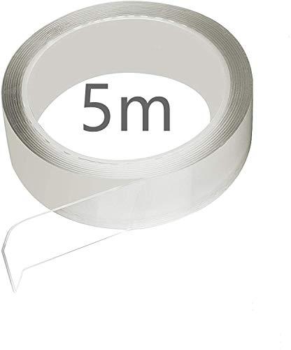 【京都ハッピー】補修テープ 台所コーナーテープ 強粘着テープ 耐熱テープ 防油テープ 防汚テープ 防カビテープ 防水テープ キッチン テープ バスルームテープ 浴槽まわり ベランダ テープ 洗面台用テープ 透明なテープ (5m*30mm*0.5mm)