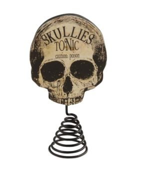 Sir Holiday Apothecary Skull Tree Topper