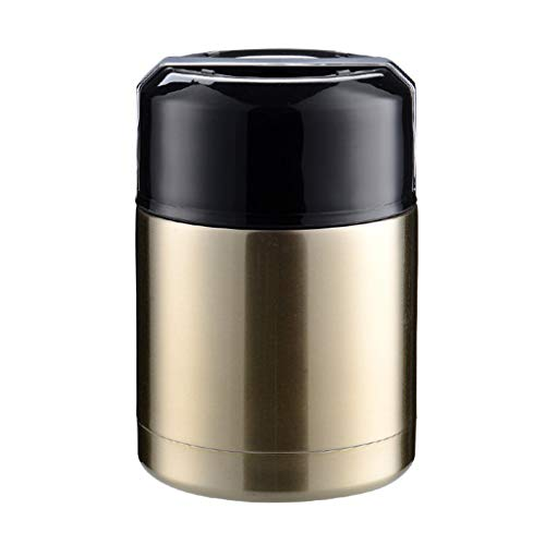 Noband Large Capacity Thermos Lunch Box Portable Stainless Steel Hot Food Soup Container Jar JSFGFSDH