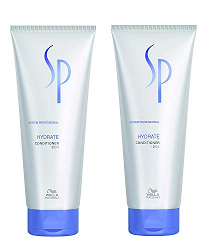 2x Wella SP System Professional Care Hydrate Conditioner 200 ml