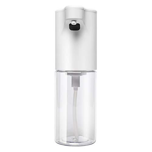 Automatischer Seifenspender Kein Berührungssensor Smart wiederaufladbar für den Einsatz mit flüssigem Seifenpumpenspender, der für Badezimmer geeignet ist, Küchen, Hotels können 350 ml halten