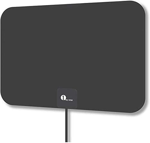 Latest HD Digital Amplified TV Antenna – Support 4K 1080P and All Older TV's Indoor Powerful HDTV Amplifier Signal Booster - Coax Cable Included