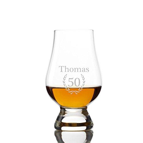 Malt Whisky The Glencairn Lot de 2 verres avec gratis gravure)