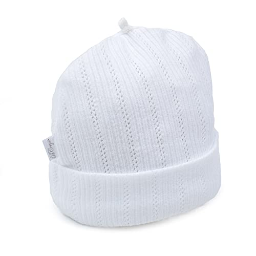 guantes blancos de niña de la marca Baby Creysi Collection