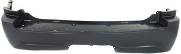 Crash Parts Plus Primed Rear Bumper Cover Replacement for 2005-2010 Jeep Grand Cherokee