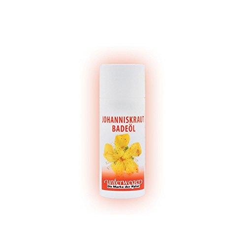 """Cosmétiques naturels""""Unterweger"""" au millepertuis, huile de bain 150 ml, véritable huile de millepertuis garantie - a fait ses preuves pour les douleurs musculaires et maux d'articulations"""