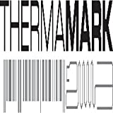 THERAMARK TMK-RA2CK2100 Inkjet Label, Matte Synthetic, Consumables, 2' x 90' Size, 2' Outer Diameter