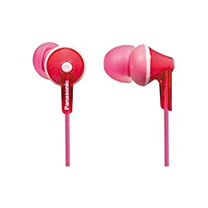 Panasonic Wired Earphones – Wired, Pink (RP-HJE125-P)