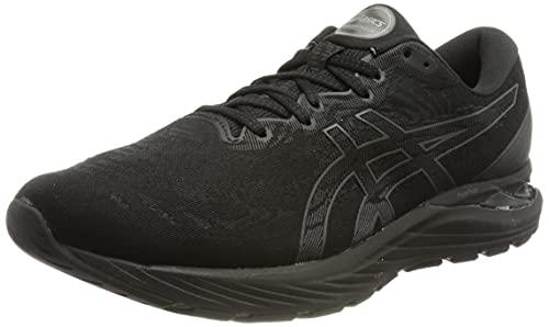 Asics Gel-Cumulus 23, Road Running Shoe Hombre, Black/Graphite Grey, 44 EU