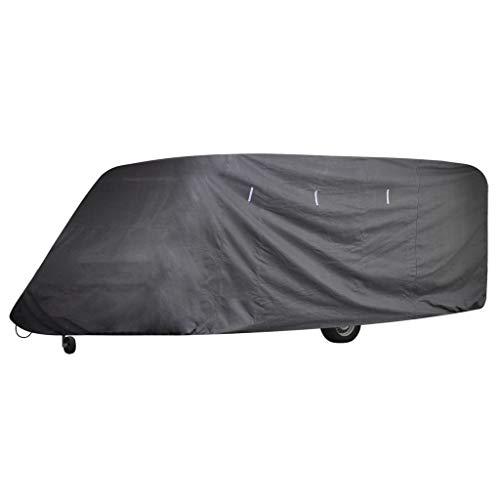 Festnight Wohnwagen Abdeckung Caravan Schutzdach Cover Schutzhülle 518 x 230 x 220 cm L?nge zwischen 4,27-5,18 m
