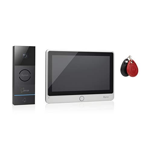 Visiophone filaire Byron - Ecran tactile 7' – Enregistrement vidéo et photo - Badges RFID