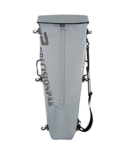 """Precision-Pak Tournament Kayak Fishing Catch Cooler for on/Offshore Angler Yakcatch III (Silver Gray, 42"""")"""