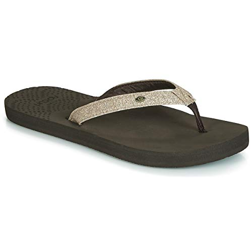 RIP CURL P-Low Girls Chanclas Mujeres Champán - 41 - Chanclas