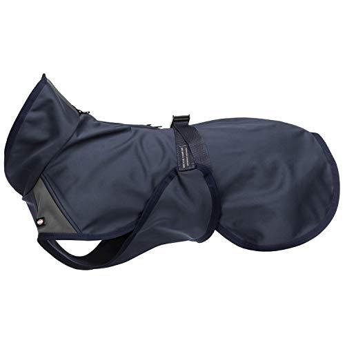 TRIXIE Abrigo Aston, S: 33 cm: 28–48 cm, Azul oscuro, Perr
