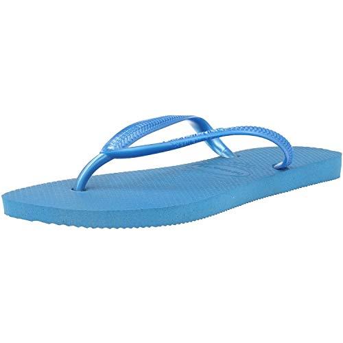 Havaianas Slim, Infradito Donna, Blu (Blue 01), 37/38 EU