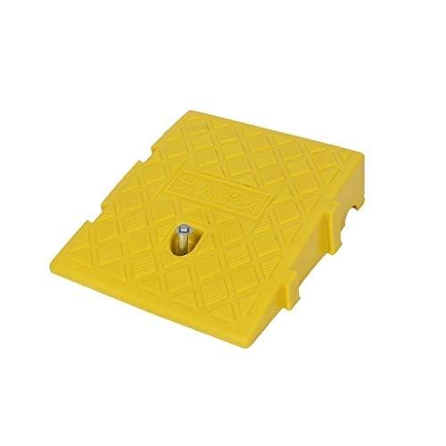 Piccolo Pendio Pad Threshold draagbare reisstoel voor auto's met veiligheidspad van kunststof van 7-11 cm Yellow-24.7 * 27 * 7CM