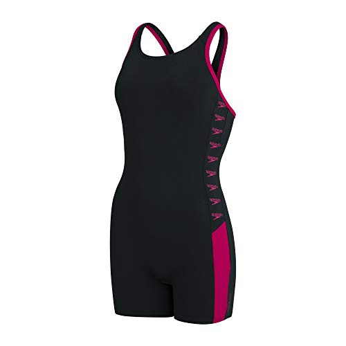 Speedo Boom Logo Splice Damen Legsuit,...