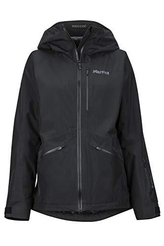 Marmot Damen Wm's Lightray Hardshell Ski- Und Snowboard Jacke, Winddicht, Wasserdicht, Atmungsaktiv, Black, M