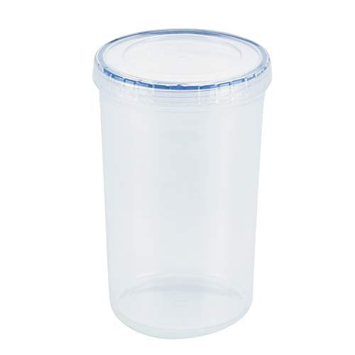 Lock & Lock runde Behälter, 1,3l, transparent, Plastik, farblos, 1.3 L