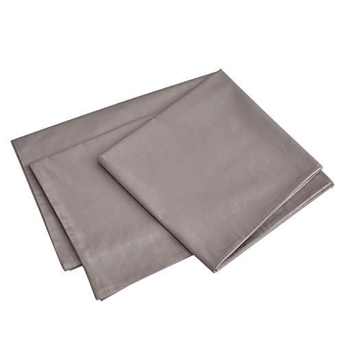 MoMA Premium Body Pillow Cover (100 Percent Cotton, 800 Thread Count) - XL High Thread Count Body Pillowcase - Luxury 21 x 54 Body Pillow Case - Champagne Long Body Pillow Cover - Long Pillow Case