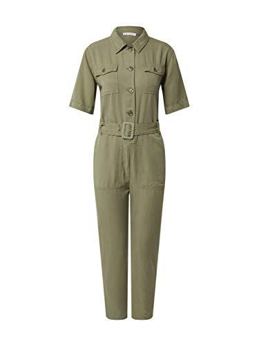 rich&royal Damen Jumpsuit, Grün (Safari Green 454), (Herstellergröße: 42)