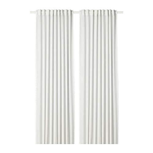 IKEA Hilja Curtains 1 Pair White 504.308.18 Size 57x98