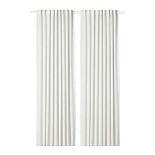 IKEA Hilja Curtains 1 Pair White 504.308.18 Size 57x98