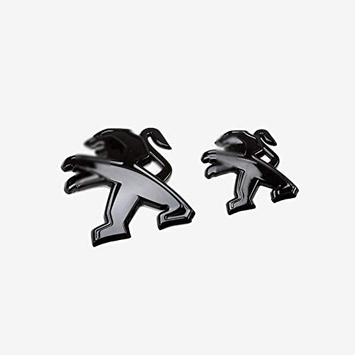 D28jd Logo Emblem Für Heckklappe Heckklappen Trunk Kühlergrills Abs Buchstaben Aufkleber Für 2017 2019 P Eugeot 4008 Schwarz Küche Haushalt