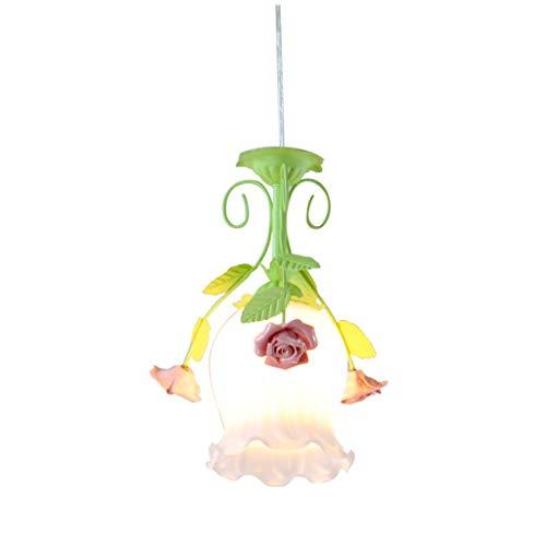 zlw-shop Lámpara Colgante Comer Corredor Creativa de la Sala de la lámpara de Pasillo único Idílico lámpara del Dormitorio de la lámpara Lámpara de Techo