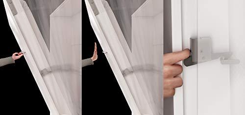 Mirjan24  Schrankbett Concept Pro II Horizontal, Wandklappbett inkl. Lattenrost, Bettschrank, Wandbett, Schrank mit integriertem Klappbett, Funktionsbett, Farbauswahl, (140×200 cm, Weiß) - 5