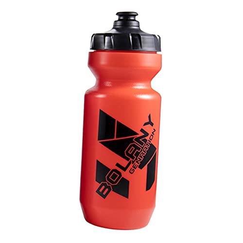 Sharplace Botella de Agua de Plástico para Apretar Botella de Agua Deportiva - Libre de BPA, Botella de Deporte Y Bicicleta para Actividades Al Aire Libre Entre - Rojo