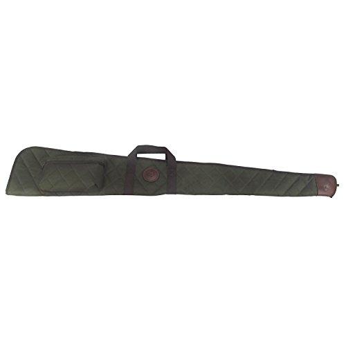Tourbon Funda para Escopeta Plegable Verde de Nailon y Cuero 138 cm...