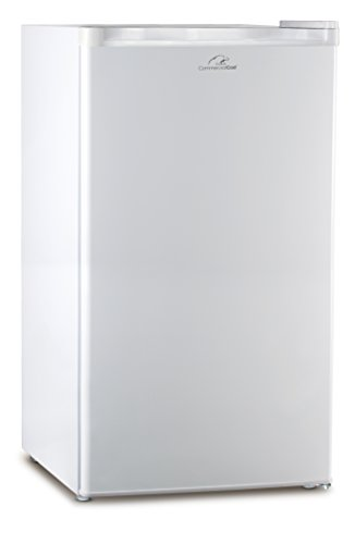 Commercial Cool CCR32W Compact Single Door Refrigerator and Freezer, 3.2 Cu. Ft. Mini Fridge, White